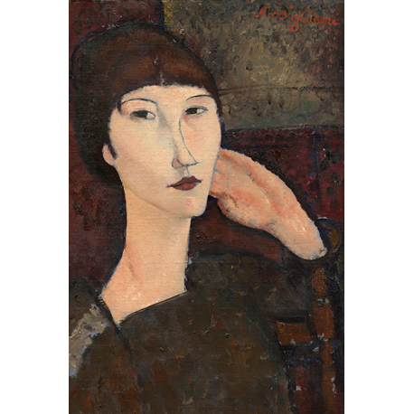 Woman with Bangs