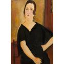 Reprodukcje obrazów Woman with Cigarette - Amadeo Modigliani