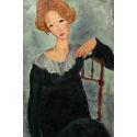 Reprodukcje obrazów Woman with Red Hair - Amadeo Modigliani