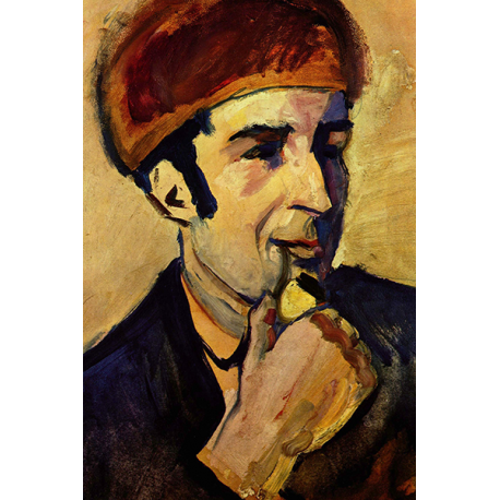 Portrait of Franz Marc