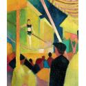 Reprodukcje obrazów Tightrope walker - August Macke