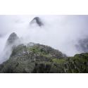 Machu Picchu wśród chmur