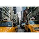Żółte taxi w New York