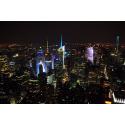 Widok na New York