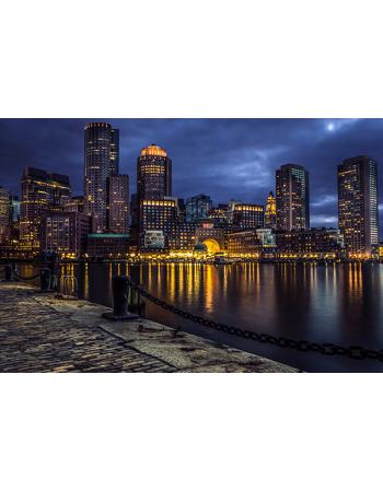 Miasto nocą HDR