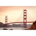 Golden Gate o zachodzie słońca