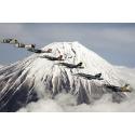 Samoloty wojskowe nad górami