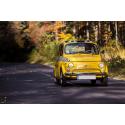 Fiat 500 na drodze