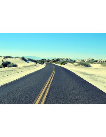 Droga wśród wydm