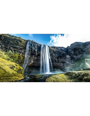 Piękny wodospad