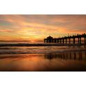 Morski zachód słońca