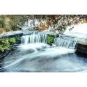 Wyjątkowy wodospad - HDR