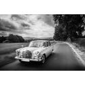 Mercedes na drodze