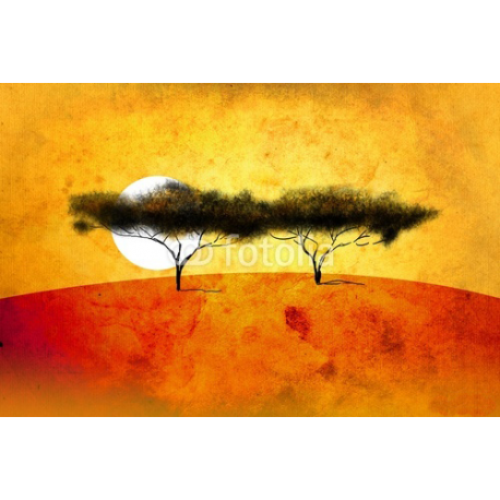 Afryka, Zachód Słonca