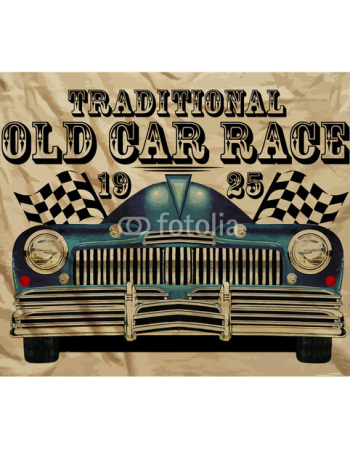 Tradycyjny stary samochód