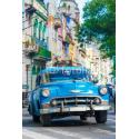 Amerykański samochód na Kubie