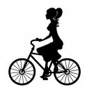 Rowerzystka