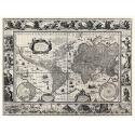 Geograficzna mapa świata