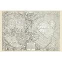 Hondius mapa świata