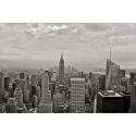 New York czarno biały