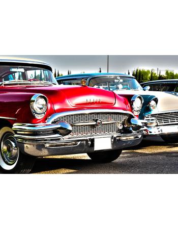Czerwony Buick