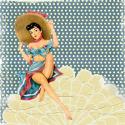 Kobieta z kapeluszem