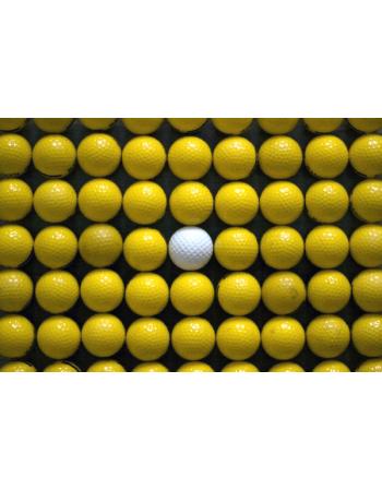 Obraz na płótnie piłeczki golfowe