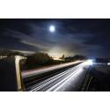 Droga w Midleton nocą