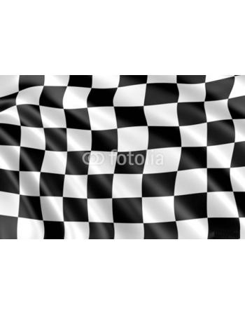 Obraz na płótnie flaga szachownicy