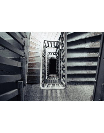 Obraz na płótnie drewniane schody