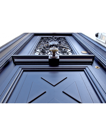 Obraz na płótnie brązowe drzwi