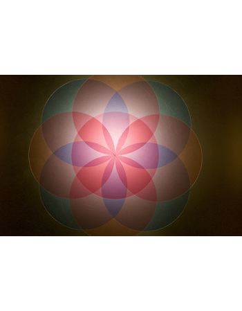 Obraz na płótnie abstrakcyjne kształty