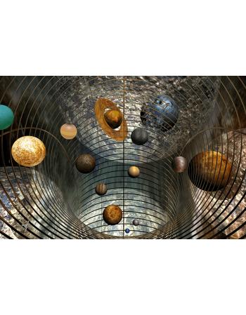 Obraz na płótnie Abstrakcyjne planety