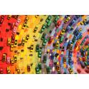 Kolorowe samochody