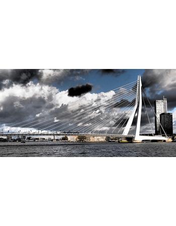 Obraz na płótnie Panorama Rotterdamu