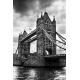 Obraz na płótnie Czarno biały Tower Bridge