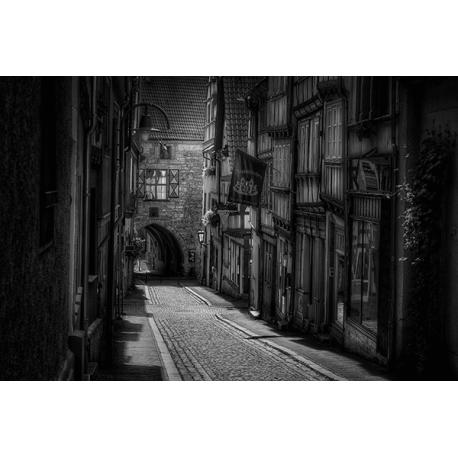 Obraz na płótnie Piękna stara uliczka