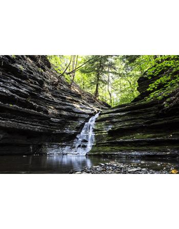 Obraz na płótnie Górski wodospad