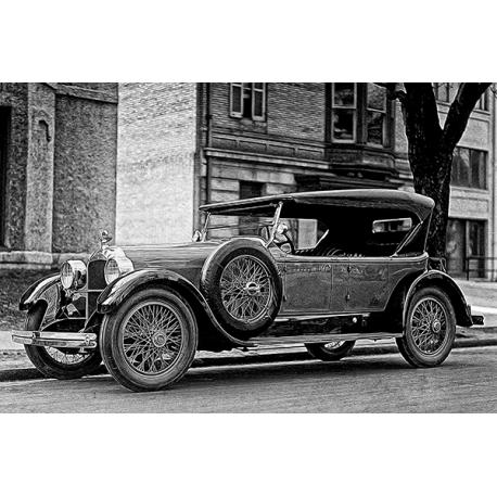 Obraz na płótnie Klasyczny stary samochód