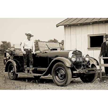 Obraz na płótnie Antyczny samochód