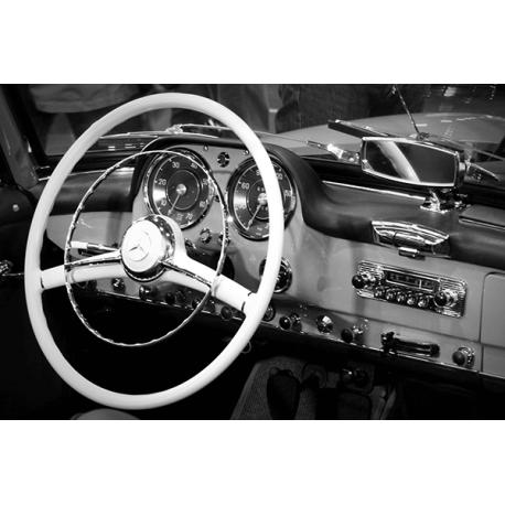 Obraz na płótnie Kokpit stary Mercedes