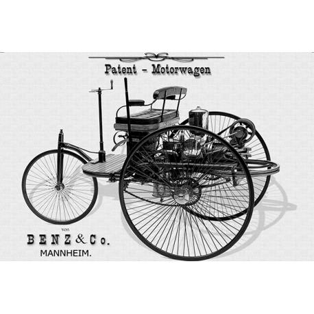 Obraz na płótnie Mercedes Benz