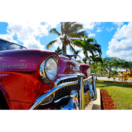 Obraz na płótnie Chevrolet Kuba Hawana