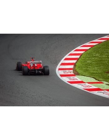 Obrazy na płótnie Formuła 1 - Ferrari