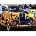 Klasyczny samochód retro