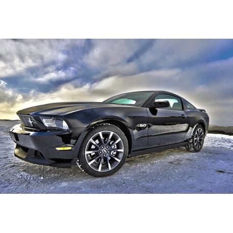 Obrazy na płótnie Ford - HDR