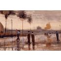 Reprodukcje obrazów A Sunday in Eindhoven - Vincent van Gogh
