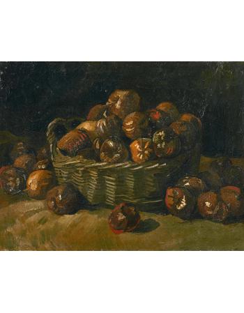 Reprodukcje obrazów Vincent van Gogh Basket of Apples