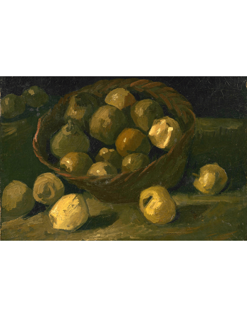 Reprodukcje obrazów Vincent van Gogh Basket of Apples-1