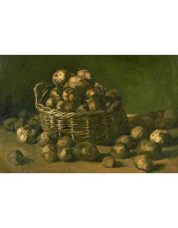 Reprodukcje obrazów Vincent van Gogh Basket of Potatoes